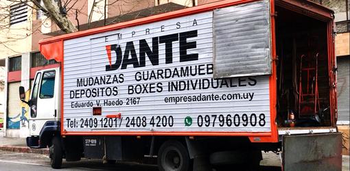 Mudanzas en Montevideo